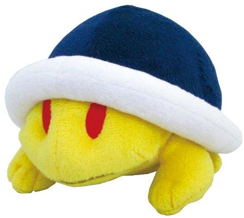 Sanei Super Mario Plush Series Buzzy BeetleMeto Plush Doll 4