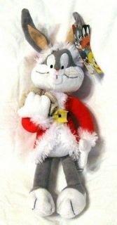 Santa Bugs Bunny Plush