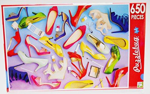 Puzzlebug 650 Piece Puzzle - Fashion Shoes