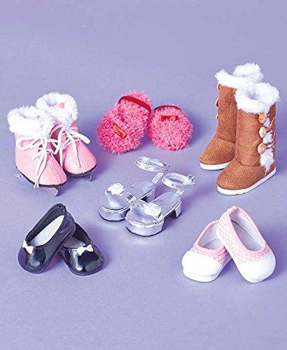 Set of 7 Fashion Shoe Set