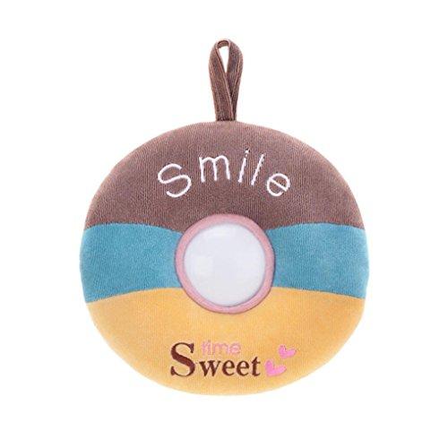 DEESEETM Donuts Plush Toys Night Light Lamp Baby Feeding Children Sleep Toys To Appease