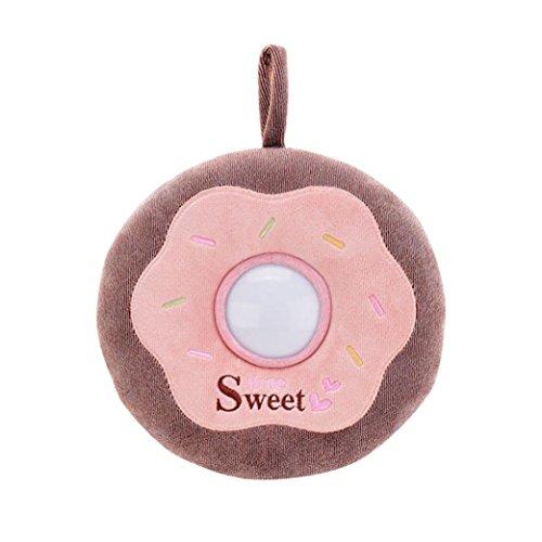 LandFox ToysDonuts Plush Toys For BabyNight Light ToysBW&PK