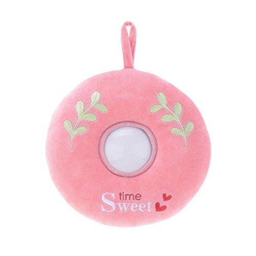 LandFox ToysDonuts Plush Toys For BabyNight Light ToysPink