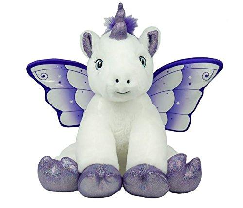 Bear Factory Cuddly Soft 16 inch Crystal The UnicornWe Stuff emYou Love em