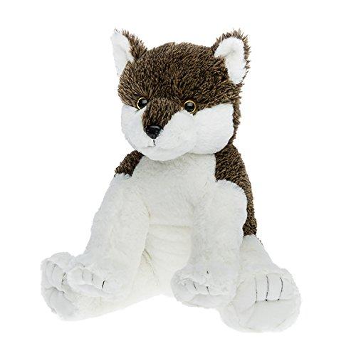 Bear Factory Cuddly Soft 16 inch Wiley WolfWe Stuff emYou Love em