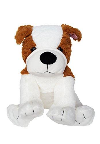 Bear Factory Cuddly Soft 8 inch Stuffed Bull Dog FriendWe Stuff emYou Love em