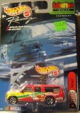 Hot Wheels Racing - NASCAR - Limited Edition 25000 - Suburban Series - 2 of 4 - Deluxe Kelloggs 5 - Chevy Suburban - 164 Scale Car Replica