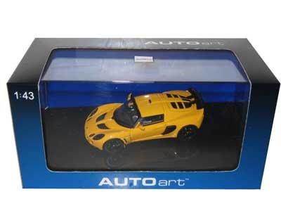 2005 Lotus Exige MKII Yellow 143 Diecast Model Car Autoart