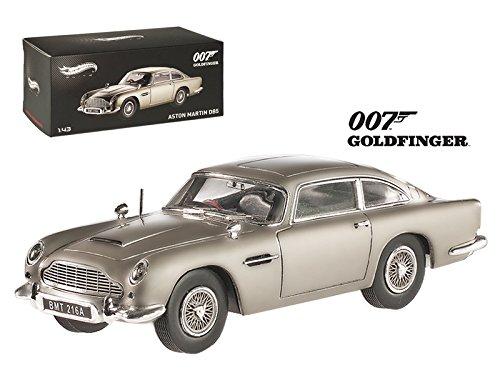 Hot wheels BLY26 Aston Martin DB5 Elite Edition James Bond 007 Goldfinger Movie 1964 143 Diecast Model Car by Hotwheels