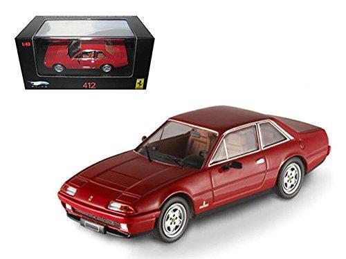 Hot wheels N5595 Ferrari 412 Red Limited Edition Elite 143 Diecast Model Car by Hotwheels