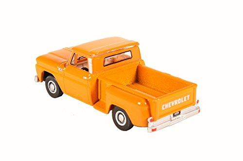 Oxford Diecast 87CP65002 Chevrolet Stepside Pick Up 1965 Orange 187 Scale Diecast