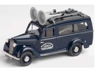 Bedford Utilecon Loudspeaker Van Moore and Bush - 1947 Diecast Model Van