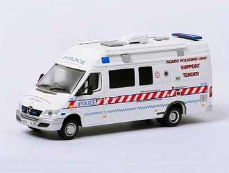 Mercedes Benz Sprinter Diecast Model Van