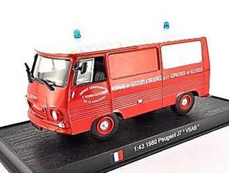 Peugeot J7 VSAB France 1980 Diecast Model Van