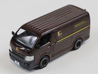 Toyota Hiace Van UPS HK Delivery 2007 Diecast Model Van