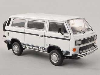 VW T3 B 4x4 Syncro Bus Diecast Model Van