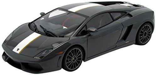 Lamborghini Gallardo LP550-2 Valentino Balboni Grey Grigio Telesto AutoArt 118 by Auto Art Diecast Car Models