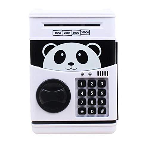 LUYANhapy9 Cute Kids Boy Girl Money Saving Box Piggy Bank Toy Cartoon Animal Print Piggy Bank Mini ATM Money Password Cash Coin Deposit Box Music Toy Pandas