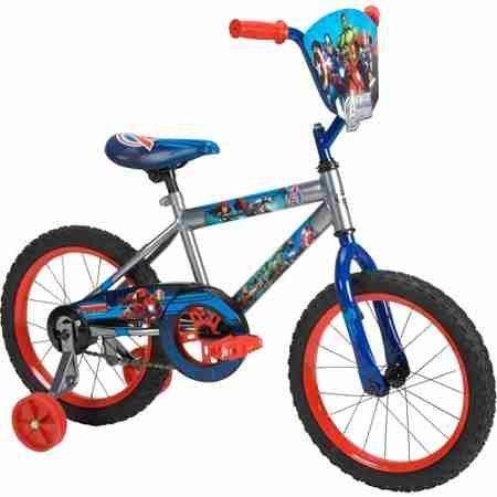 16 Huffy Marvel Avengers Boys Bike - Childrens Balance Bikes - Kids Bike - Easy assembly - Dimensions 52L x 23W x 34H