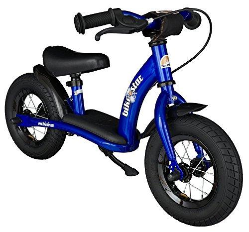 Bikestar 10 inch 254cm Kids Balance Bike  Kids Running Bike - Classic - Blue
