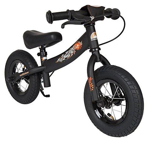 Bikestar 10 inch 254cm Kids Balance Bike  Kids Running Bike - Sport - Black