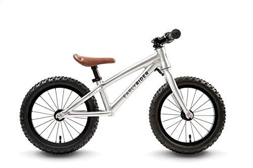 Early Rider Trail Runner XL Fatbike Kids Balance Bike - 2016 Silver One Size