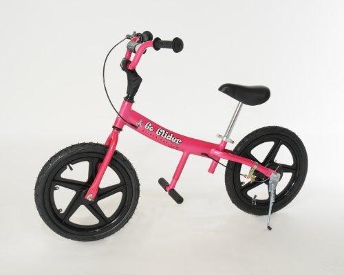Glide Bikes Kids Go Glider Balance Bike Pink 16-Inch by Glide Bikes