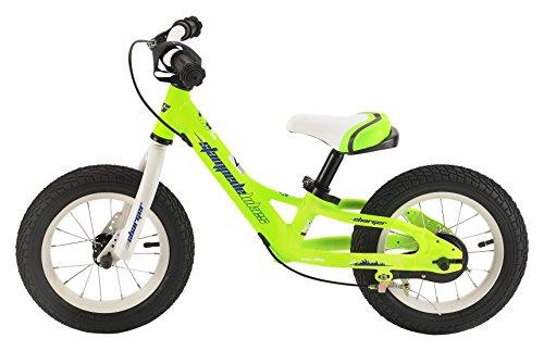 Stampede Bikes Charger Kids Balance Bike 12 Green