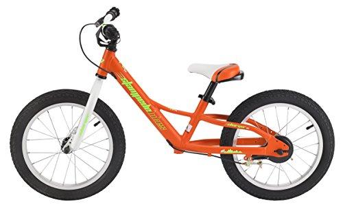 Stampede Bikes Charger Kids Balance Bike 16 Inch Orange