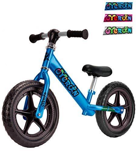 Oyerun Baby Fit Balance Bike - Kids Smart Adjustable Push Bikes Blue