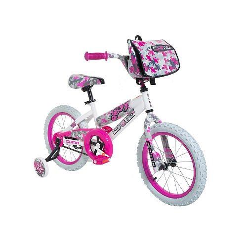 Dynacraft Girls 16 Inch Camo Decoy Bike