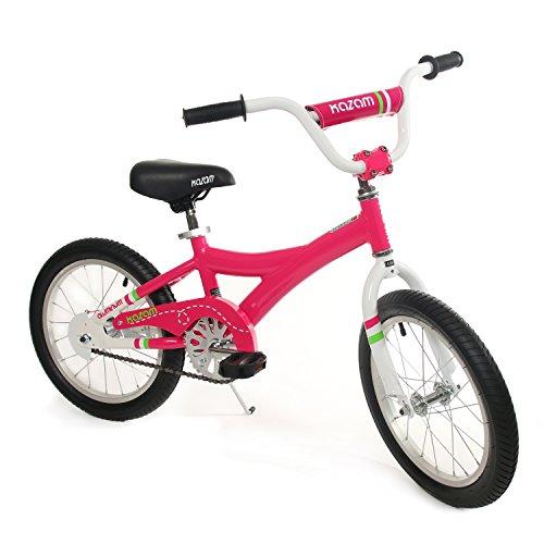 KaZAM Alloy Pedal Bike with Coaster Brake 16-Inch Pink