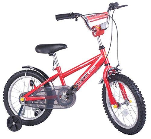 Merax Childrens Bike with Training Wheels 16 Inch Red