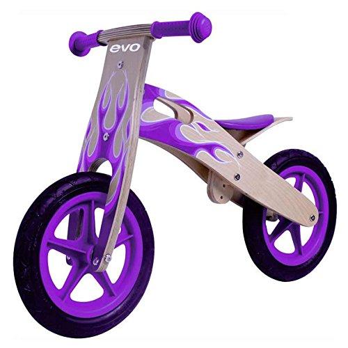 EVO Hot Shot Jr Woody Pink 12 Balance Bikes