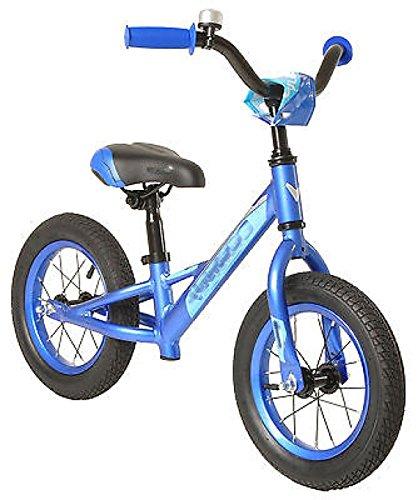 Kids Balance Bike Lightweight Aluminum Frame 12-Inch Wheels Blue