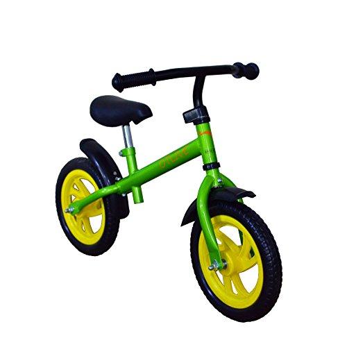 OTLIVE 12-Inch Sport Balance Bike for Boys or Girls Green