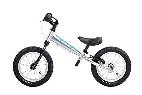 TooToo ALU 12 Balance Bike in SilverBlue