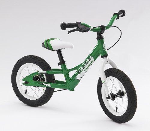 TykesBykes 12 Balance Bike Green Color Green Model