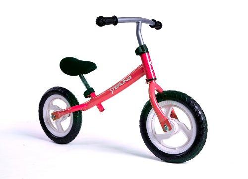 Wonka Woo Toys4320RD 12 in Balance Bike in Red