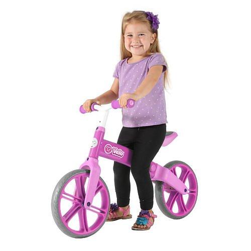 Yvolution Y Velo 12 inch Balance Bike Pink