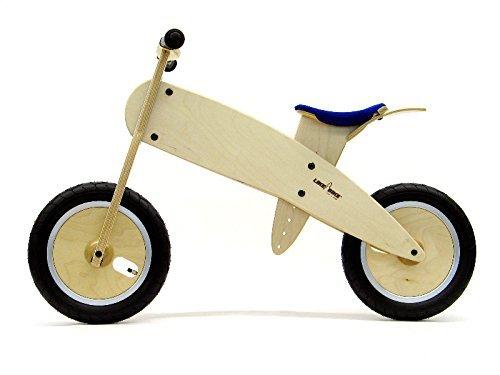LIKEaBIKE Midi - Wooden Balance Bike Blue