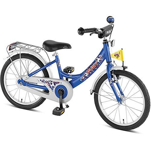 Puky childrens bikes 12 inch ZL 18 Alu Kids bike 18 inch Fußball blue