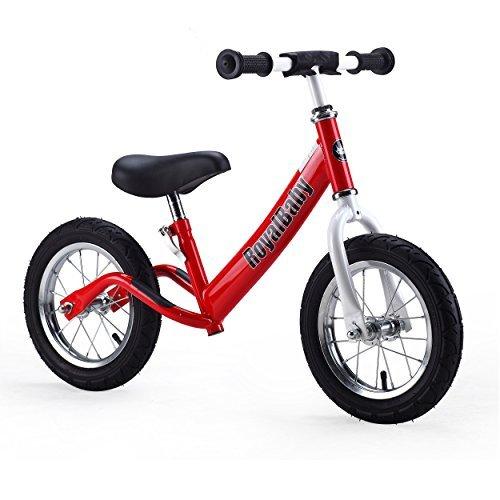 Royalbaby 12 inch Kids Bike Boys Bike Girls Bike Balance Bike Running Bike Push Bike No Pedal Bike Red