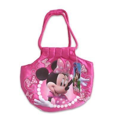 Disney Minnie Mouse Girl Handbag Purse Double Rope Top Handle