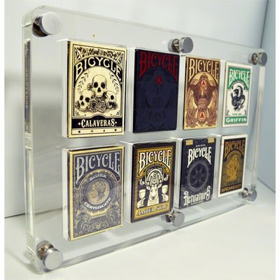 Kings Wild Exclusive 8 Deck Card Case by Gamblers Warehouse - Trick
