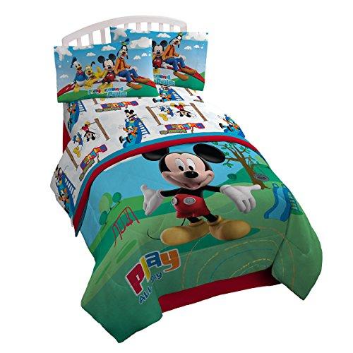 Disney Mickey Mouse Club House Play 3 Piece Twin Sheet Set