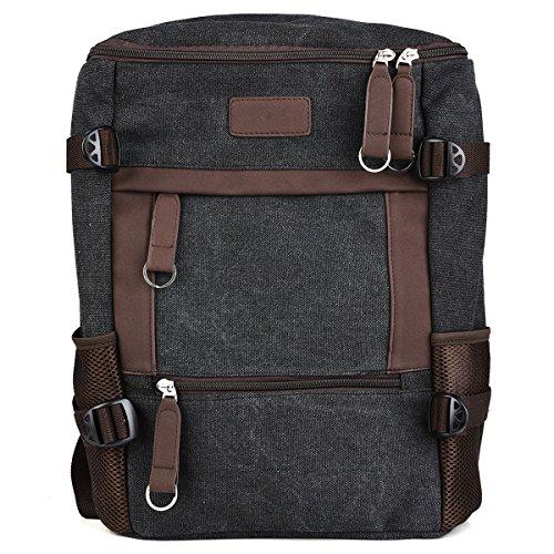 KroO HP Spectre x360 2-in-1 133 Spectre x360 15 Case  15-inch LaptopNotebook School Backpack Dark GreyBrown