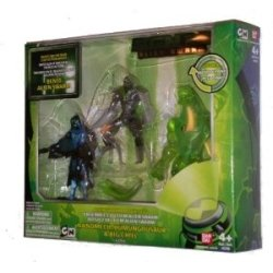 Ben 10 Figure Collection - Alien Swarm Movie Set 2