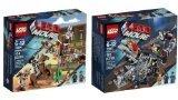 Lego Movie 70801 Melting Room Set 70800 Getaway Glider Building Sets