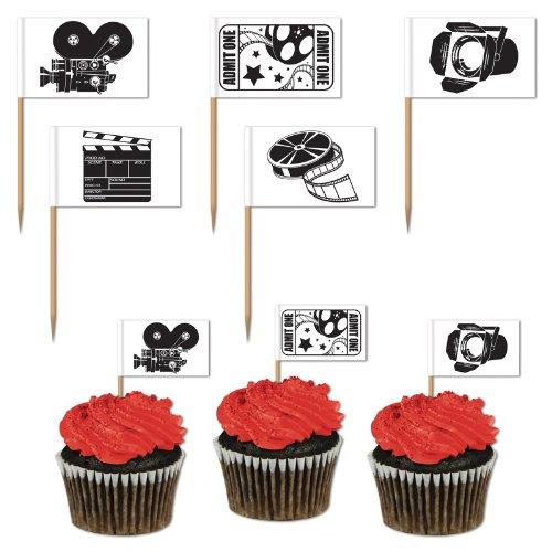 Movie Set Picks asstd designs    50Pkg